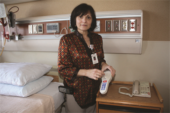 Program helps Mon General ensure patient room cleanliness
