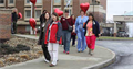 National Walking Day at Mon General 4-2-14